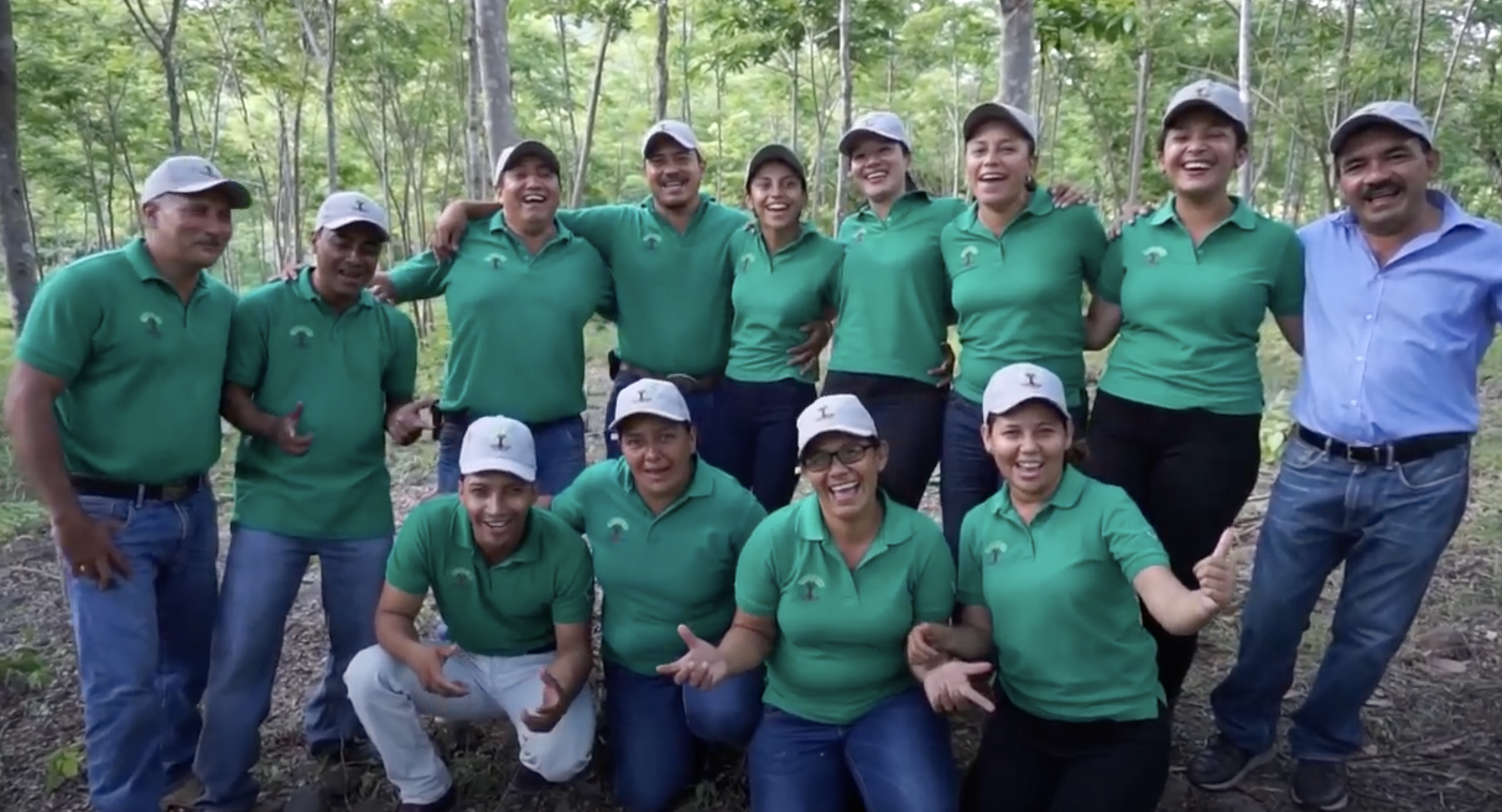 communitree team Nicaragua